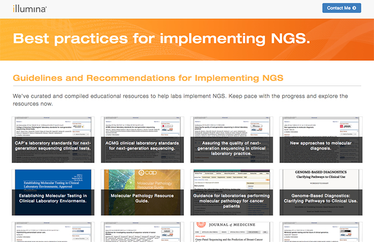 Resources for Applying NGS in a Clinical Setting