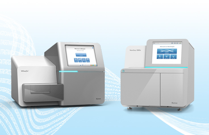 Compare NextSeq 550Dx and MiSeqDx