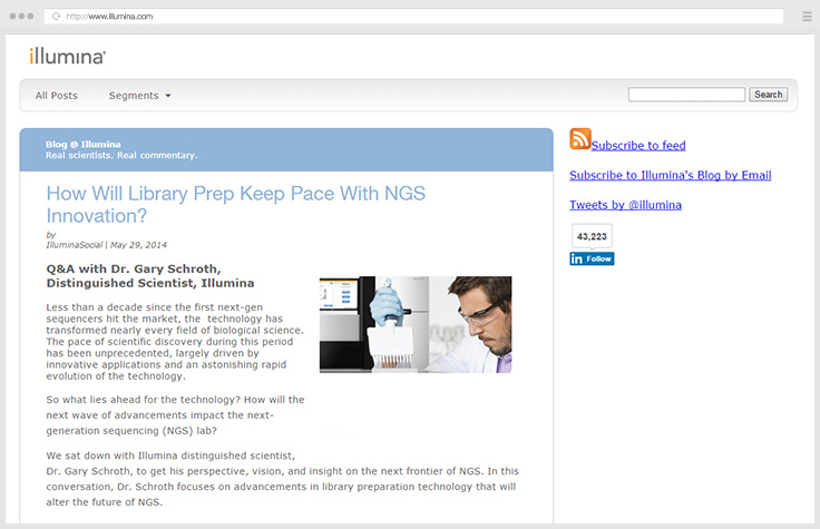 Library Prep and NGS Innovation