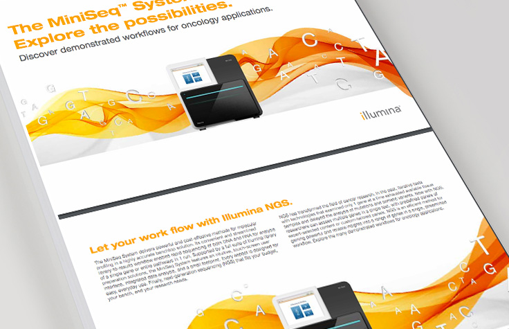 Explore NGS solutions from Illumina