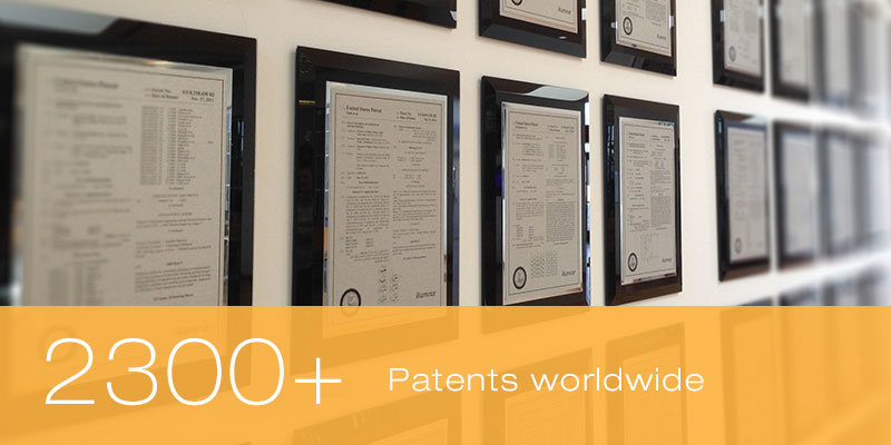 2300+ Patents worldwide