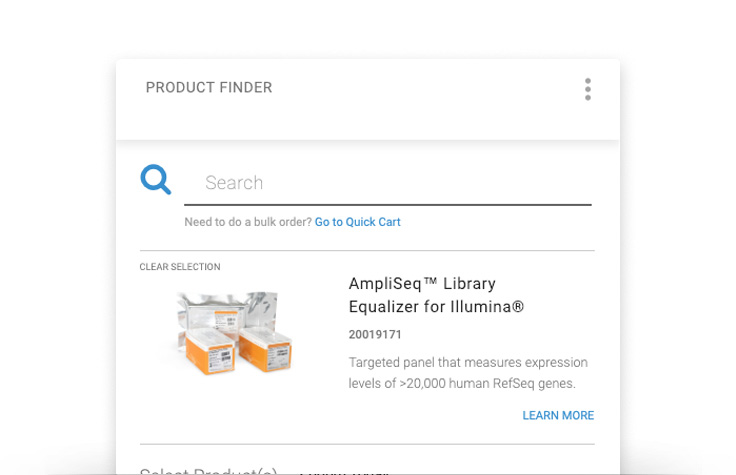 View Product Finder