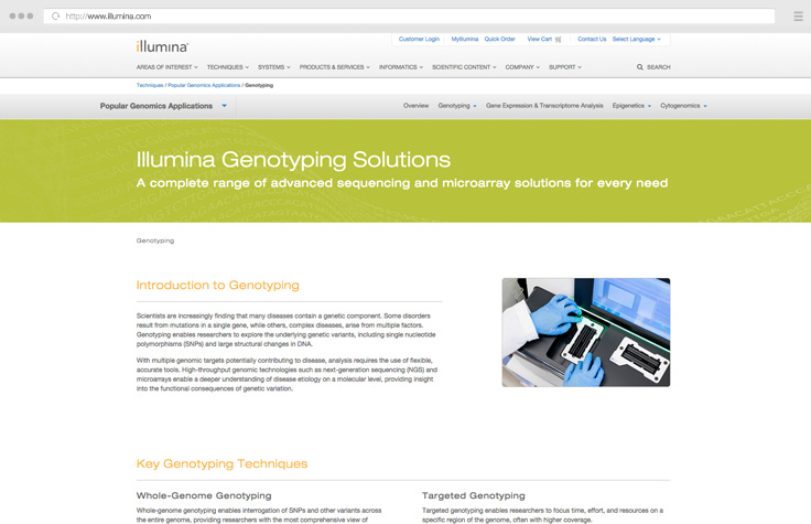 Genotyping Solutions