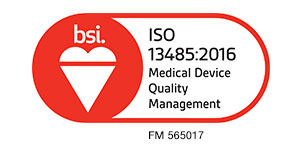 ISO 13485 CERTIFIED by BSI