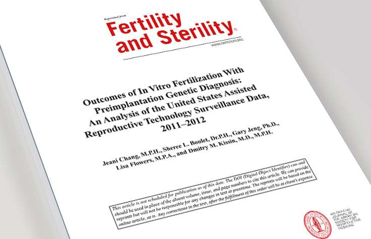 Outcome comparisons of IVF with and without PGS