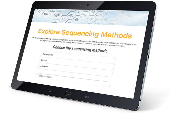 Sequencing Method Explorer