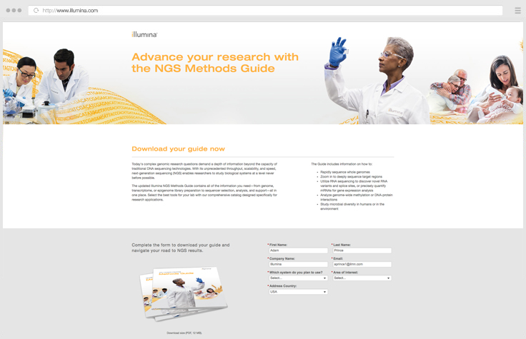 Illumina NGS Application Guide